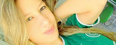 Pamella Munike Volpato, soccer fan and cheerleader gunned down by fans of rival team in Goiania Brazil