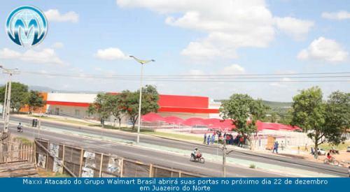 574065c07 Trata-se do Maxxi Atacado do Grupo Walmart Brasil que, recentemente,  presenteou a cidade ...